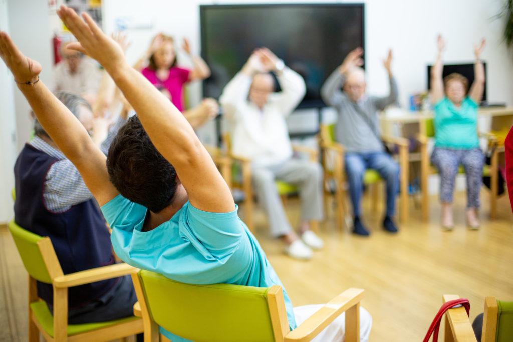 gimnasia para personas mayores en madrid